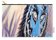 Carry-all Pouch featuring the digital art I A M  2 by Antonia Citrino