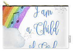 I Am A Child Of God Carry-all Pouch