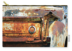 Carry-all Pouch featuring the photograph I Am A Little Rusty by Christopher McKenzie
