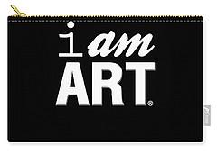 I Am Art- Shirt Carry-all Pouch