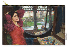 I Am Half Sick Of Shadows Said The Lady Of Shalott Carry-all Pouch