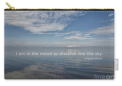 Carry-all Pouch featuring the mixed media I Am In The Mood by Terry Rowe