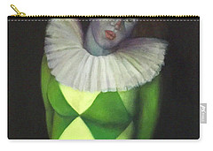 Carry-all Pouch featuring the painting I Am by Marlene Book