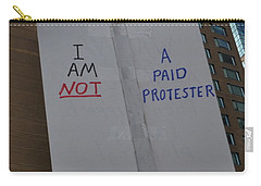 I Am Not A Paid Protester Carry-all Pouch