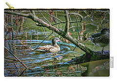 Carry-all Pouch featuring the photograph I Am Pritty #h9 by Leif Sohlman