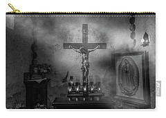 Carry-all Pouch featuring the photograph I Am The Light Of The World by David Morefield