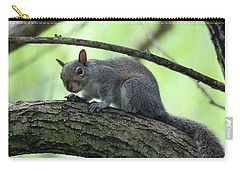 Carry-all Pouch featuring the photograph I Am Watching You by Trina Ansel