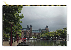 Carry-all Pouch featuring the photograph I Amsterdam by Therese Alcorn