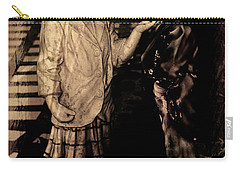 Carry-all Pouch featuring the photograph I Approve by Al Bourassa