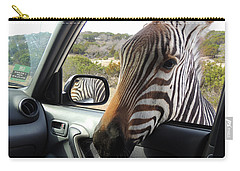 I Brake For Wildlife Carry-all Pouch