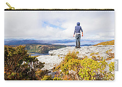 I Can Climb Mountains Carry-all Pouch