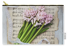 Carry-all Pouch featuring the photograph I Can Hear Music by Kim Hojnacki