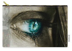 I Cried For You  Carry-all Pouch by Paul Lovering