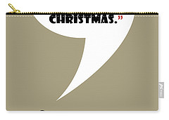 I Don't Hate Christmas - Mad Men Poster Don Draper Quote Carry-all Pouch