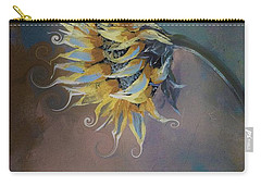 I Feel Like A Sunflower Painting Carry-all Pouch
