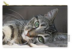 I Get Lost In Your Eyes Carry-all Pouch by Heather King