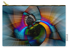Carry-all Pouch featuring the photograph I Got The Blues by Cathy Donohoue