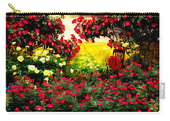 Carry-all Pouch featuring the painting I Had A Dream by Gabriella Weninger - David