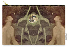Carry-all Pouch featuring the painting I Have Heard The Mermaids Singing by Lora Serra
