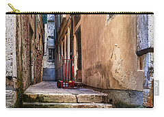 I Have Seen Your Trolley, Somewhere In Venice Carry-all Pouch
