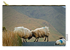 Carry-all Pouch featuring the photograph I Know What To Do by Patricia Griffin Brett