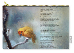 I Know Why The Caged Bird Sings - Maya Angelou Carry-all Pouch