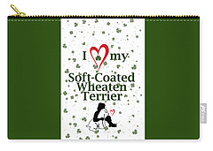 I Love My Wheaten Terrier Carry-all Pouch