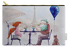 I Love Paris Grandpa Carry-all Pouch
