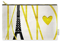 I Love Paris Carry-all Pouch by Mindy Sommers