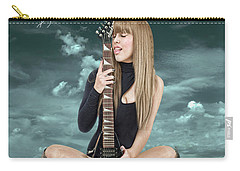 Joan Jett Carry-All Pouches