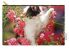 I Love Roses Carry-all Pouch