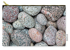 I Love Stones II Carry-all Pouch by Kathi Mirto