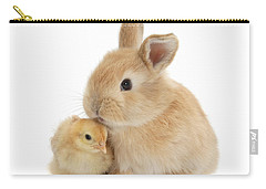 I Love To Kiss The Chicks Carry-all Pouch