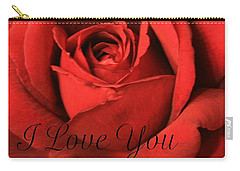 Carry-all Pouch featuring the photograph I Love You by Marna Edwards Flavell
