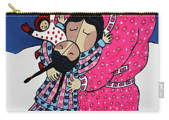 I Love You Mommy Carry-all Pouch by Stephanie Moore
