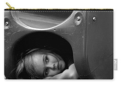 I Need A Playmate Carry-all Pouch by Chris Mercer