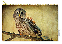 Solitude Stands While Wisdom Draws Near Carry-all Pouch