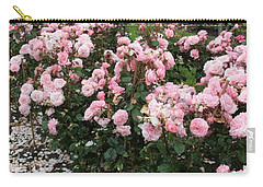 ...........i Never Promised You A Rose Garden Carry-all Pouch by Martina Fagan