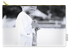 Carry-all Pouch featuring the photograph I Rule The Beach by Jez C Self
