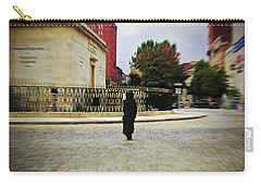 Carry-all Pouch featuring the photograph I Walk Alone by Brian Wallace