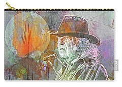 I Wanna Live, I Wanna Give Carry-all Pouch by Mal Bray
