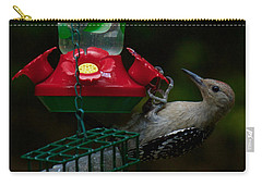 I Want To Be A Hummingbird Carry-all Pouch by Robert L Jackson