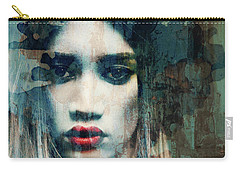 Carry-all Pouch featuring the mixed media I Want To Know What Love Is  by Paul Lovering