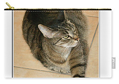 I Was Here First, Ok? Carry-all Pouch by Mariarosa Rockefeller