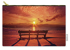I Will Always Be With You Carry-all Pouch by Phil Koch