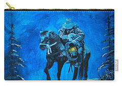 I Will Carry You Carry-all Pouch by Leslie Allen