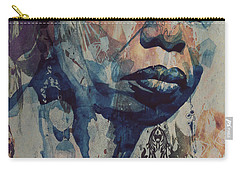 Carry-all Pouch featuring the mixed media I Wish I Knew How It Would Be  Feel To Be Free by Paul Lovering