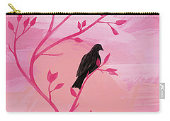I Would Rather Have Birds Carry-all Pouch