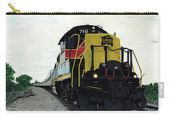 Carry-all Pouch featuring the painting Iais716 by Jason Girard