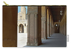 Ibn Tulun Great Mosque Carry-all Pouch by Nigel Fletcher-Jones